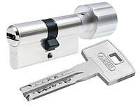 Цилиндр ABUS  X12R Compact  90 (45*45Т) Ni ключ-тумблер ,5 кл.,никель, фото 1
