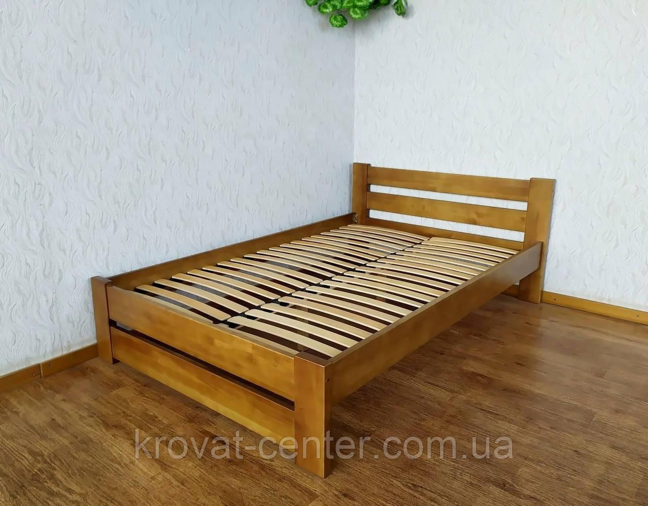 """Кровать полуторная из массива натурального дерева """"Лабелия"""""""