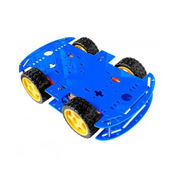 Шасі Ардуїнов 4WD (Синій колір)