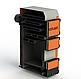 Твердотопливный котел длительного горения Kotlant КГ 95 кВт с механическим регулятором тяги, фото 3