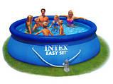 Надувной бассейн Easy Set Pool Intex 56932 (366х91 см. ) + насос киев, фото 3