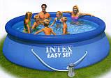 Надувний басейн Easy Set Pool Intex 56932 (366х91 див. ) + насос київ, фото 4