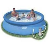 Надувной бассейн Easy Set Pool Intex 56932 (366х91 см. ) + насос киев, фото 6