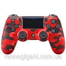 Джойстик геймпад Sony PS 4 DualShock 4 Wireless Controller Red Camouflage ( червоний камуфляж )