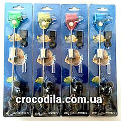 Механический сигнализатор поклевки Shark система фиксации лески усы