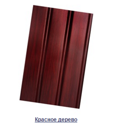 Карнизная подшивка ASKO - красное дерево , фото 2