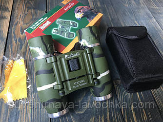 Бинокль Охотничий 12x25 - BUSHNELL (green)