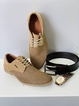 Туфли мужские кожаные / Повседневные осенние туфли