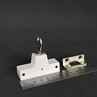 Детский замок блокиратор/антивор akpen защита от взлома усиленный (белый)