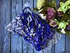 Резинка Калуш 4 см, 50 шт/уп синего цвета
