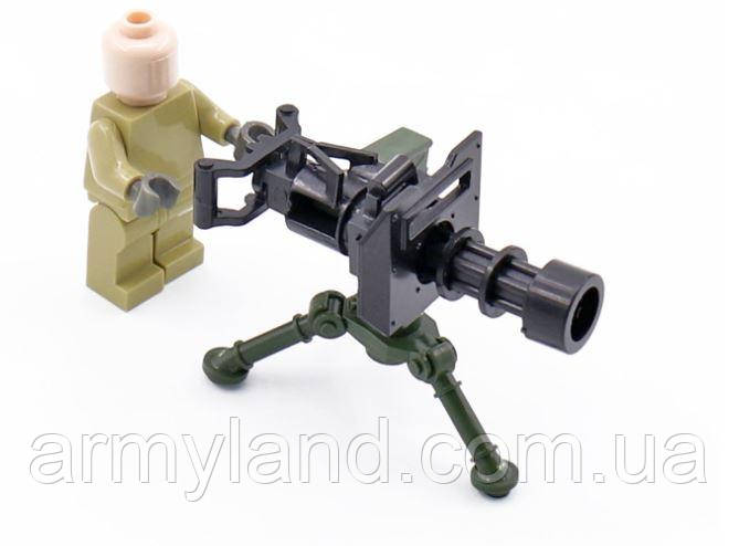Кулемет Мініган. Лего Lego, конструктор