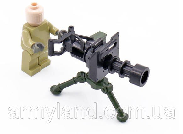 Кулемет Мініган. Лего Lego, конструктор, фото 2