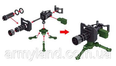Кулемет Мініган. Лего Lego, конструктор, фото 3