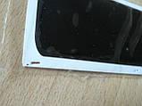 Наклейка s силиконовая Полоса 140х40х1мм черная без надписи на авто, фото 3