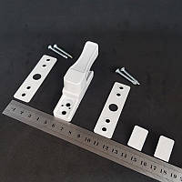 Замок блокиратор/антивор akpen защита от взлома усиленный (белый)