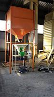 Накопительный бункер для весового дозатора 3 - 5 кубметра