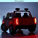 Двомісний дитячий електромобіль джип GMC Sierra M 4294EBLR-3, фото 7