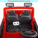 Двомісний дитячий електромобіль джип GMC Sierra M 4294EBLR-3, фото 6
