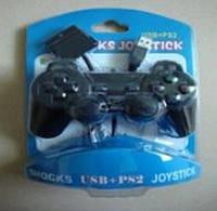 Джойстик проводной DJ-706 USB PC + PS2