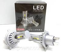 Автолампи LED V10P діод CSP Південна Корея H4 8000Лм 30Вт 12-24В, фото 1