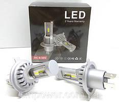 Автолампи LED V10P діод CSP Південна Корея H4 8000Лм 30Вт 12-24В