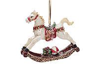 Підвісна декоративна фігурка Конячка-гойдалка 8.5 см