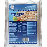 Тунец кусочками в подсолнечном масле  Atlantico 1 кг Испания