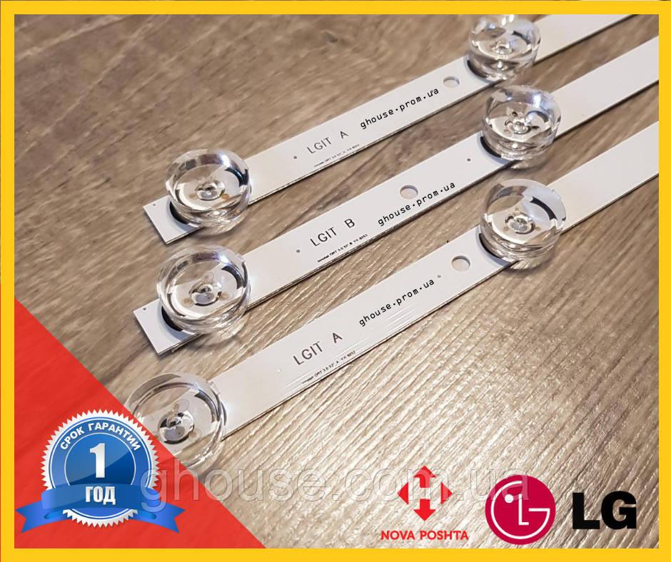 """LED Подсветка телевизора LG 32LB565U LG Innotek DRT3.0 32"""" LG 32LB565V 32LB565U"""