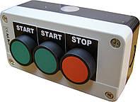 "XAL-B361Н29 Пост трехместный ""Старт1-Старт2-Стоп"""