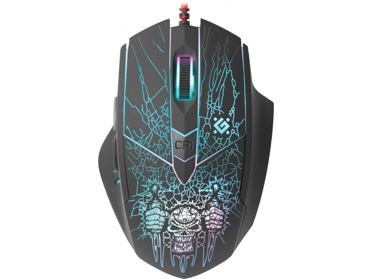 Мышь Defender Doom Fighter GM-260L USB Black