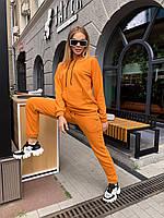 Женский спортивный костюм худи с капюшоном и штаны на резинке
