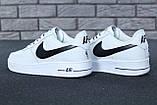 🔥 Кроссовки женские повседневные Nike Air Force White (найк эир форс белые), фото 4