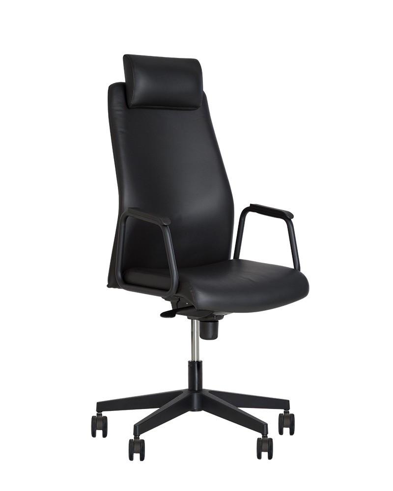 Кресло руководителя SOLO (Соло) HR black ES PL70