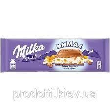 Шоколад Milka MAX Crispy Yogurt Хлопья Йогурт, 300 г
