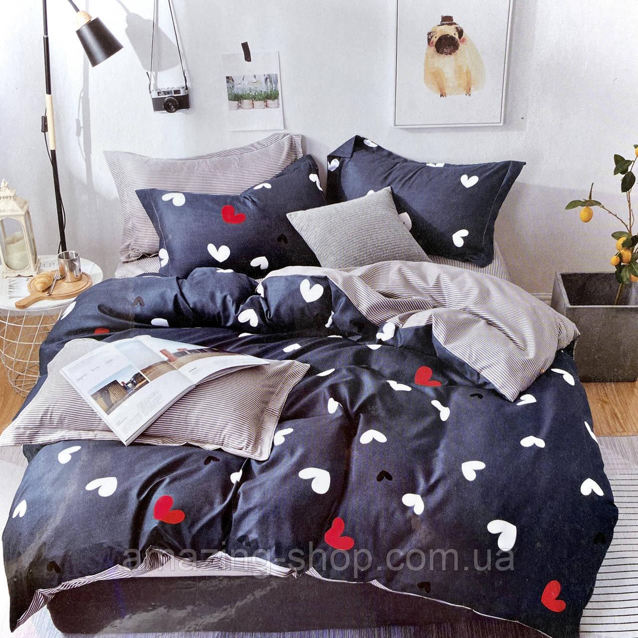 Постельное белье   Постільна білизна   Комплект постельного белья ( простынь на резинке ) Размер - Полуторный