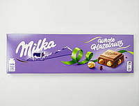Молочный шоколад с орешком Milka Whole HazelNuts, 300 g