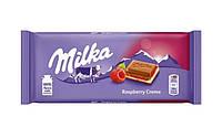 Шоколад Milka Raspberry Creme (з малиною), 100 г