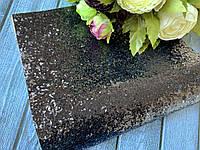 Екокожа « блиск» 20 х 34 см, 10 аркушів/уп., кольори марсал, фото 1