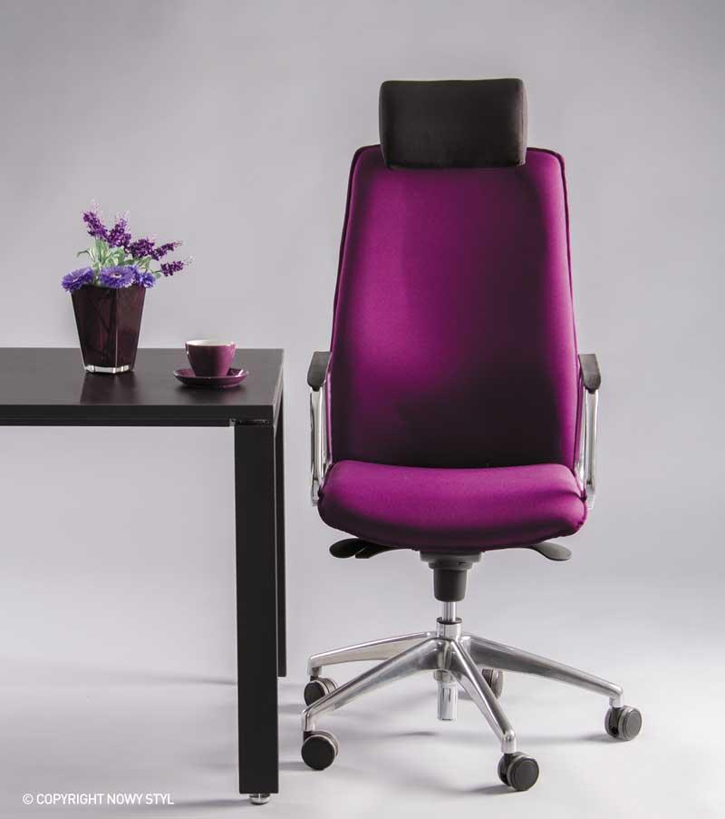 Кресло руководителя SOLO (Соло) HR steel SL AL70