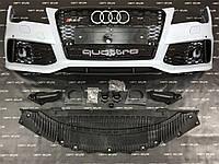 Бампер передній стиль RS7 для Audi A7 2010-2015, фото 1