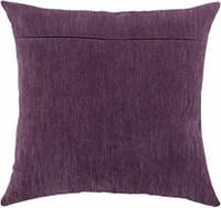 Обратная сторона подушки, фиалка