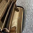 Великий гаманець плетений структура на блискавки в стилі Ботега / натуральна шкіра #10240 Чорний, фото 2