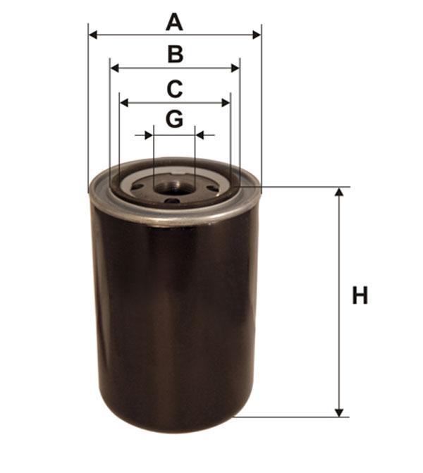 Фильтр топливный, WIX 95032E