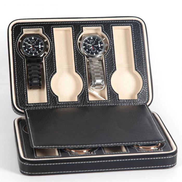 Органайзер для хранения часов  jocestyle -bit watch zipper bag до 8 часов цвет черный