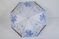 """Женский зонт полуавтомат с цветочным принтом от фирмы """"Feeling Rain"""""""