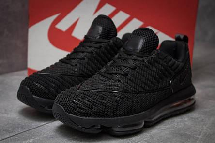 Кроссовки мужские 14052, Nike Air Max, черные, [ 44 45 ] р. 44-28,4см., фото 2