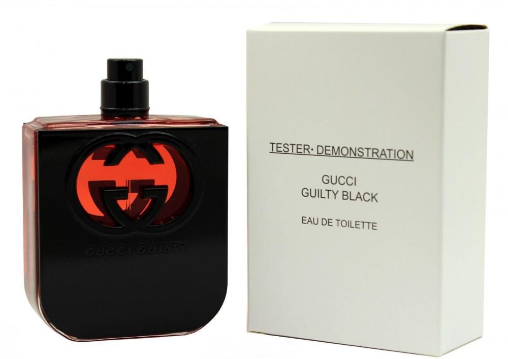 Gucci Guilty Black Pour Femme туалетная вода 75 ml. (Тестер Гуччи Гилти Блэк Пур Фем)