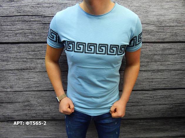 Мужская футболка.  Размеры: Размеры: S, L, фото 2