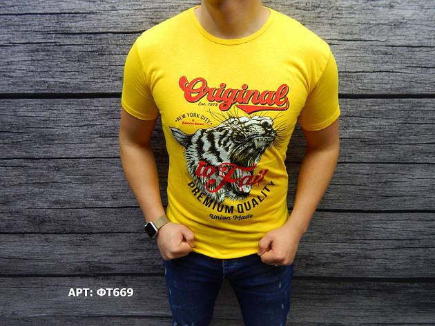 Мужская футболка. Размеры: M/L/XL/2XL (маломерят на размер), фото 2