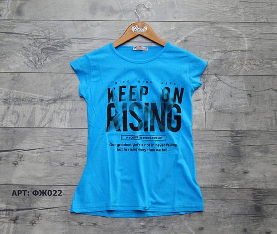 Женская футболка. Размеры: L/XL/2XL, фото 2